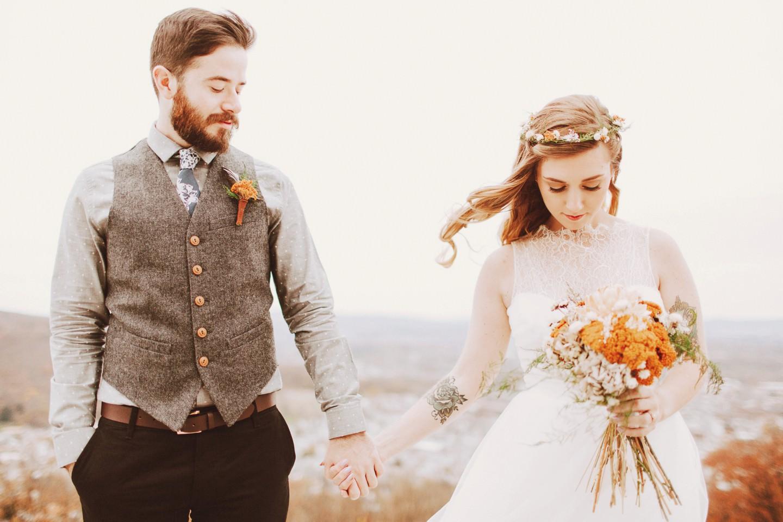 gorgeous overlook wedding photos