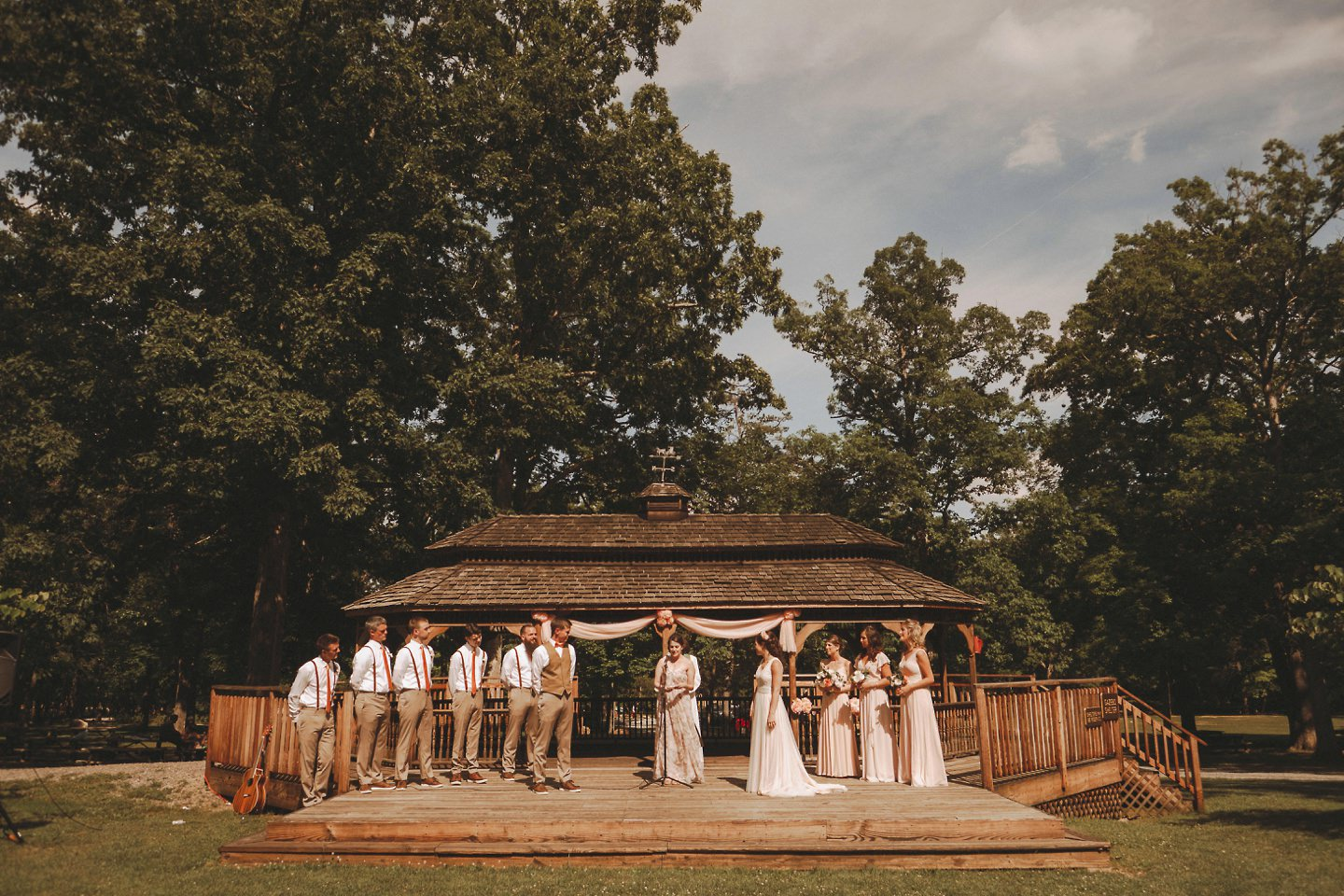 pictures of berkeley springs wedding