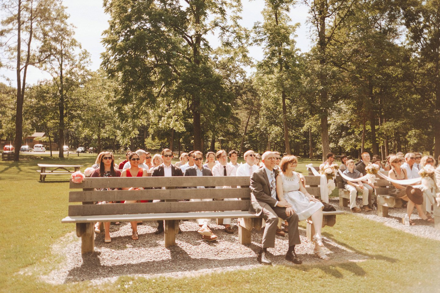 a wedding in Cacapon Resort State Park