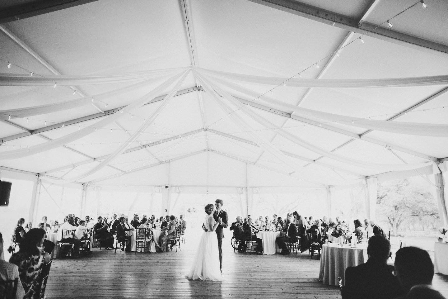 first dance at walkers overlook