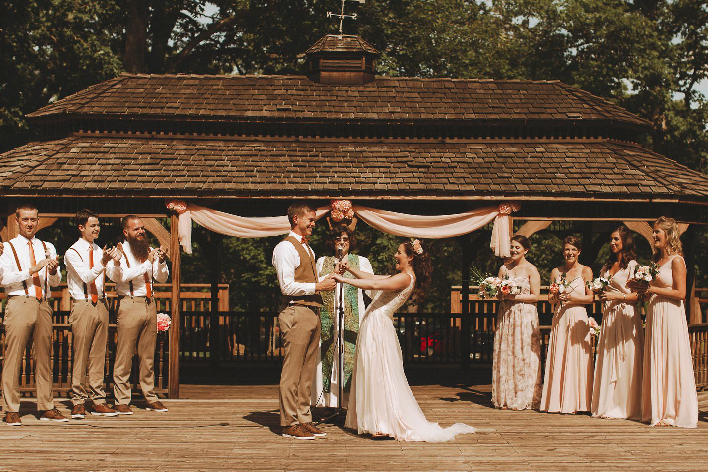 ceremony at Cacapon Resort State Park