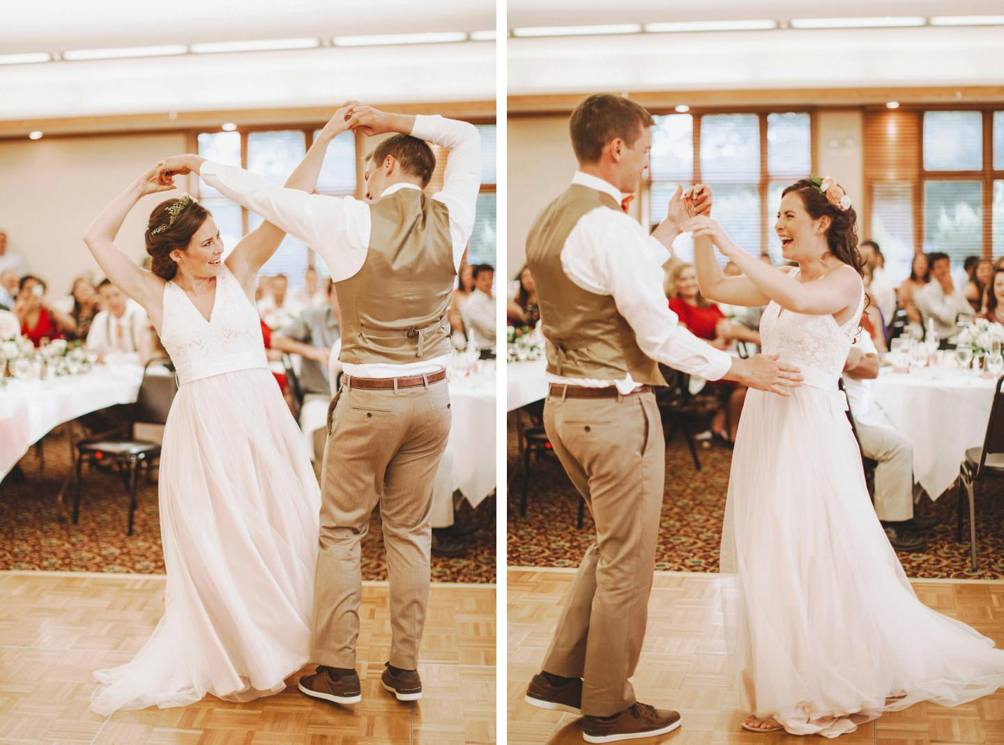 really cute first dance photos at Cacapon Resort State Park