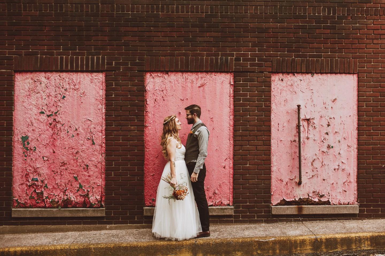 pink wedding backdrop