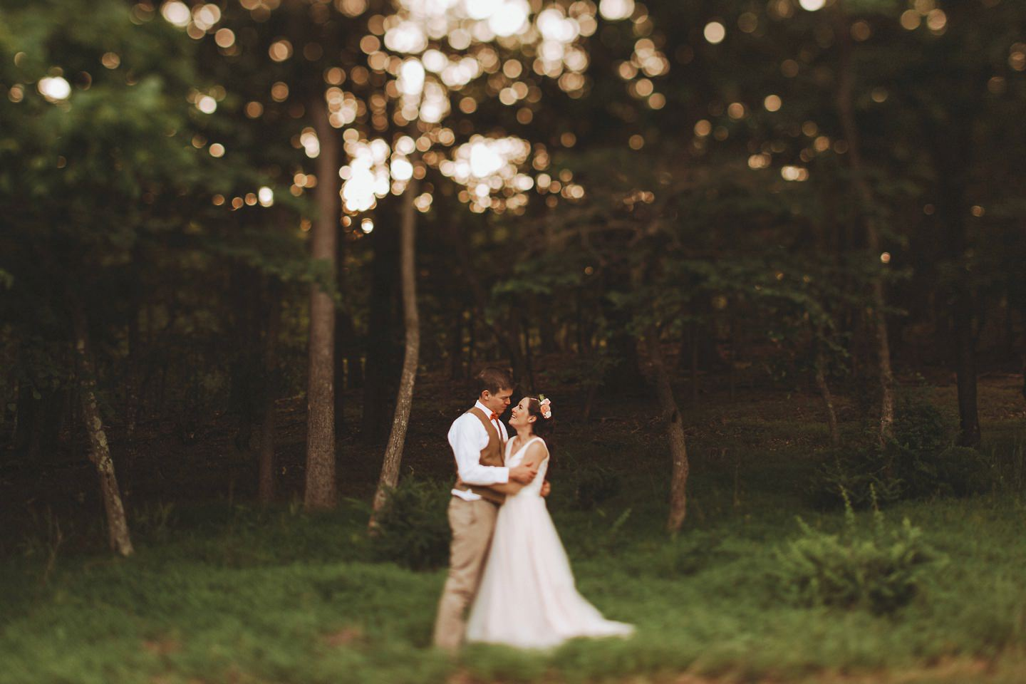 forest bridal pictures