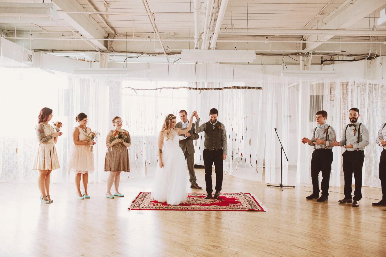 feather wedding photos