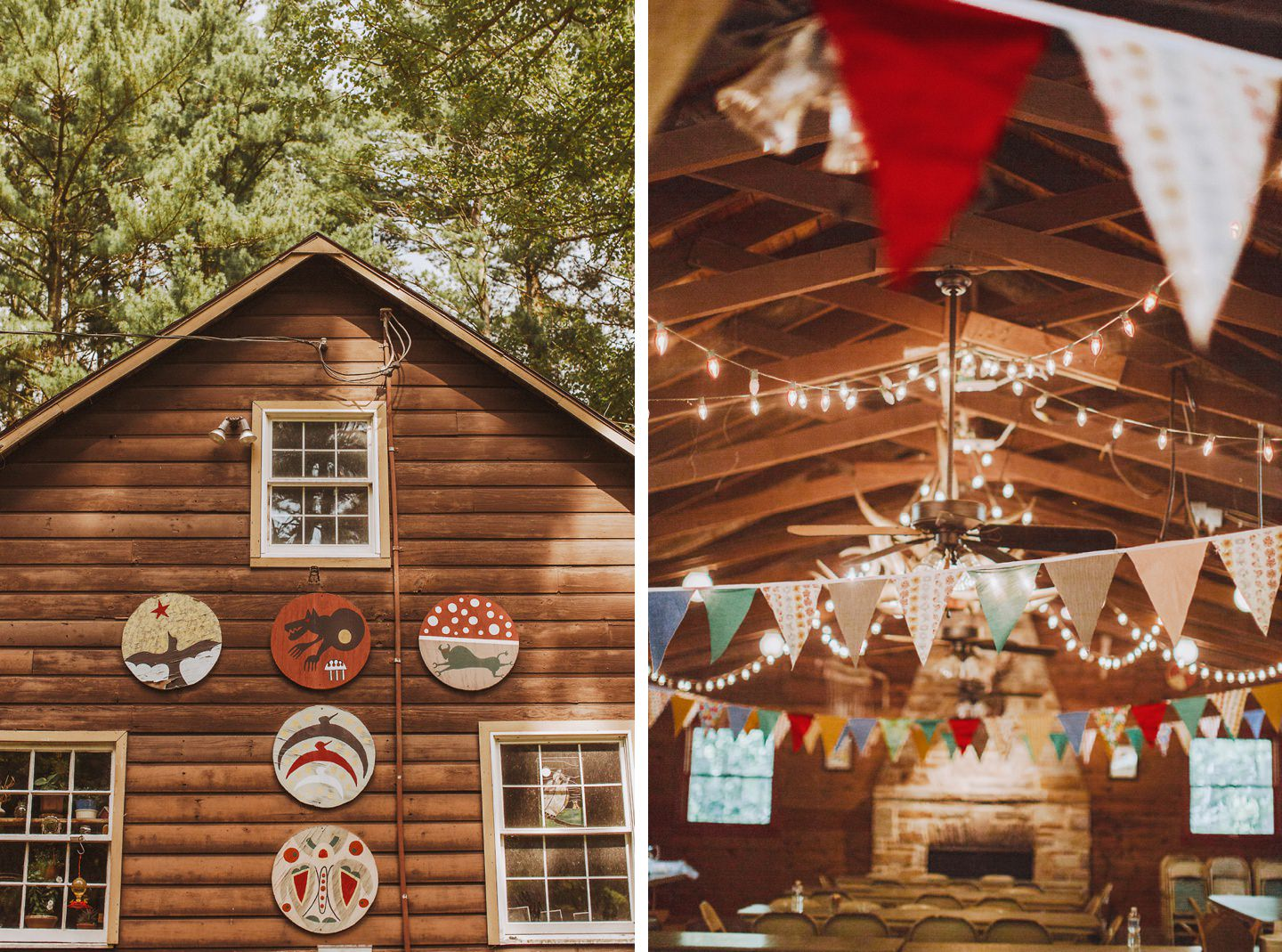 013 wedding at a camp in maryland