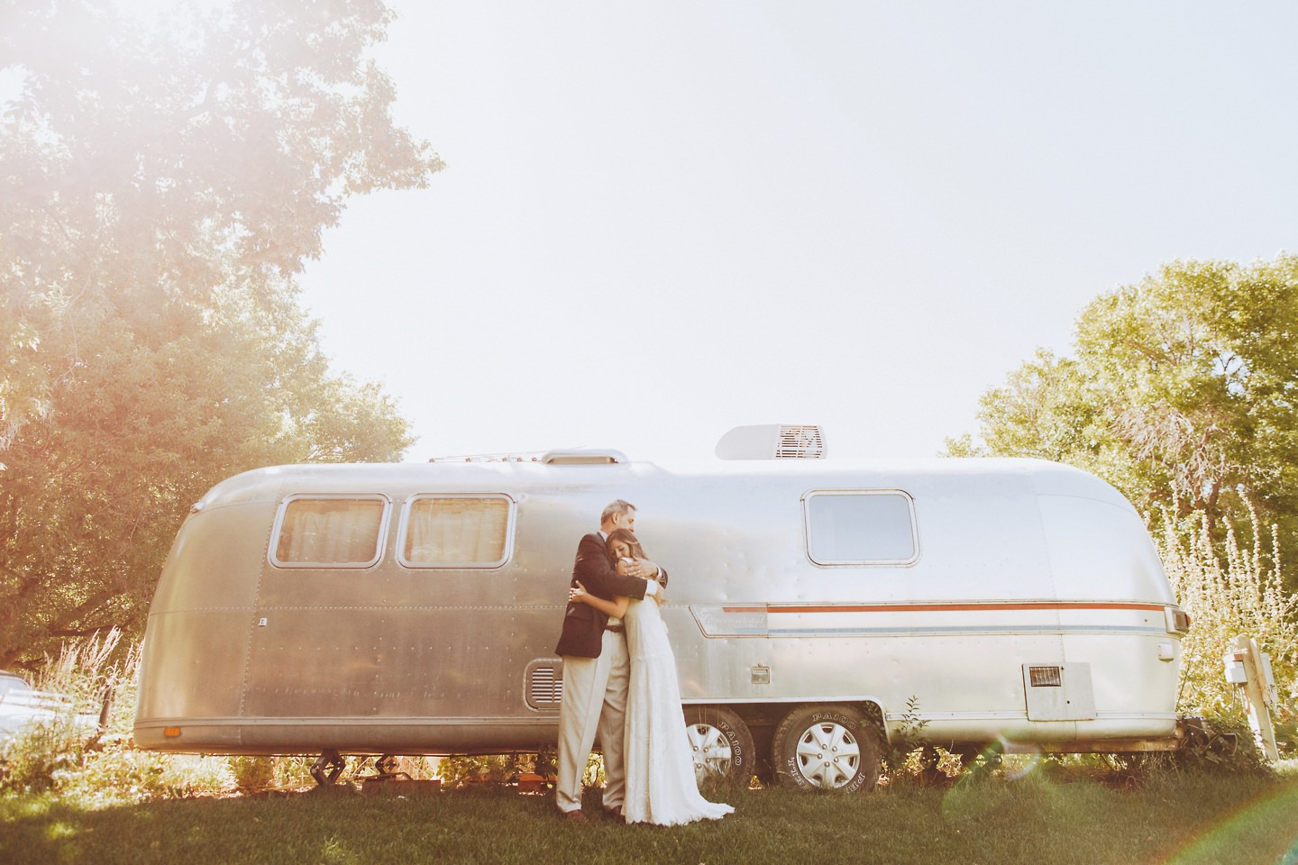 airstream wedding photos colorado