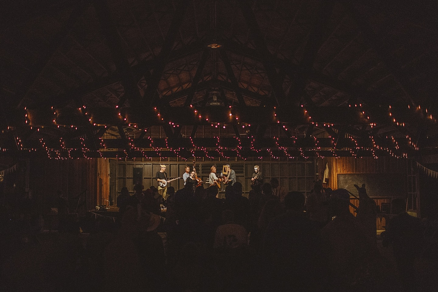 halloween themed wedding at camp