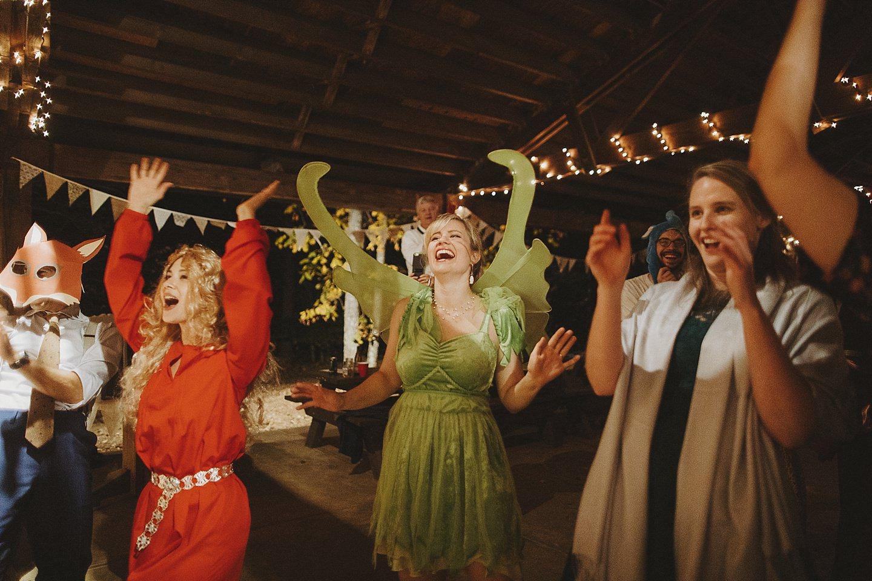 amazing halloween themed weddings