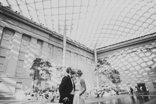 Photos In National Portrait Gallery Atrium Wedding
