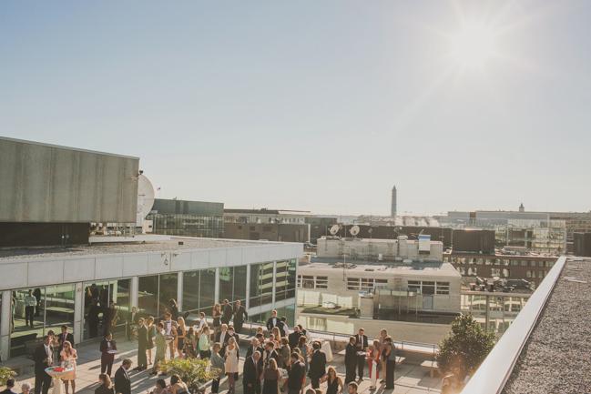 Washington Dc Rooftop On The Flying Bridge Wedding